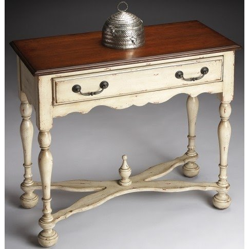 Tuscan French Country Cream Painted Furniture Sofa Hall Table Buffet Cabinet New