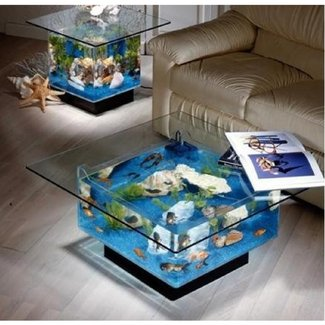 Unusual end tables