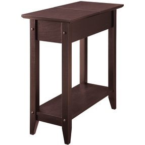 Very narrow end table