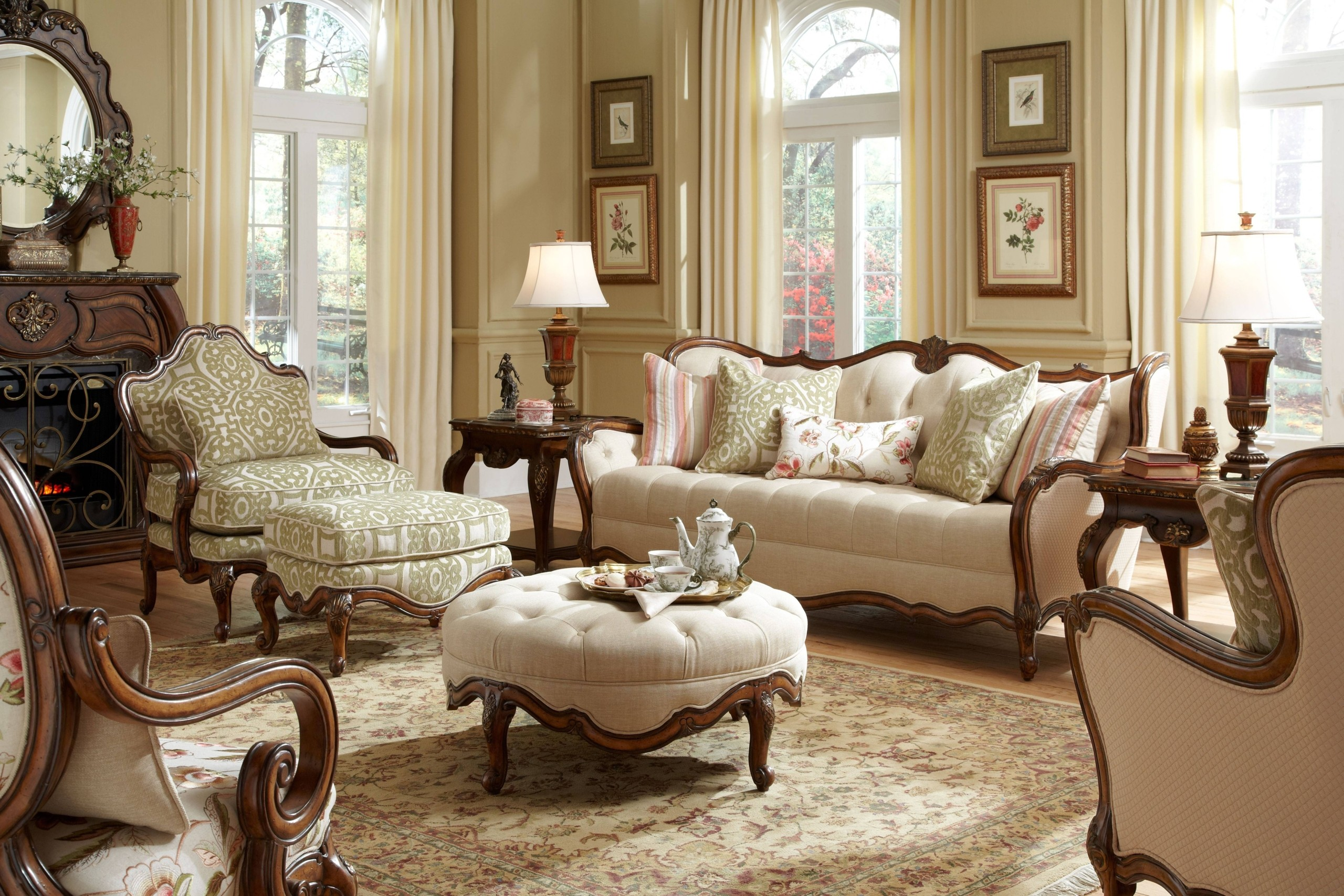 Charmant Victorian Living Room Furniture 1