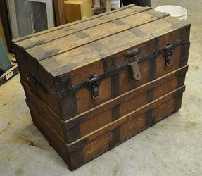 Victorian trunks