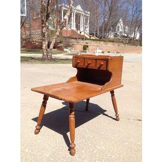 Vintage Ethan Allen Baumritter Heirloom Maple Nutmeg Step End Table