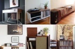 Vinyl living room furniture