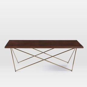 Wood Top Coffee Table Metal Legs Ideas On Foter