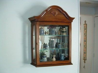 Wall Hanging Curio Cabinets