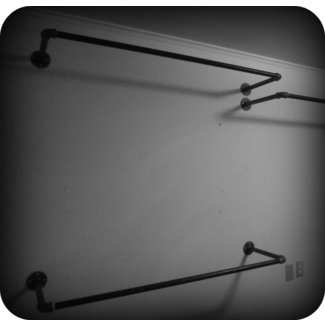 Wall Mounted Hanging Rack