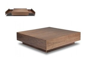 Walnut coffee tables 1