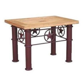 Western End Table