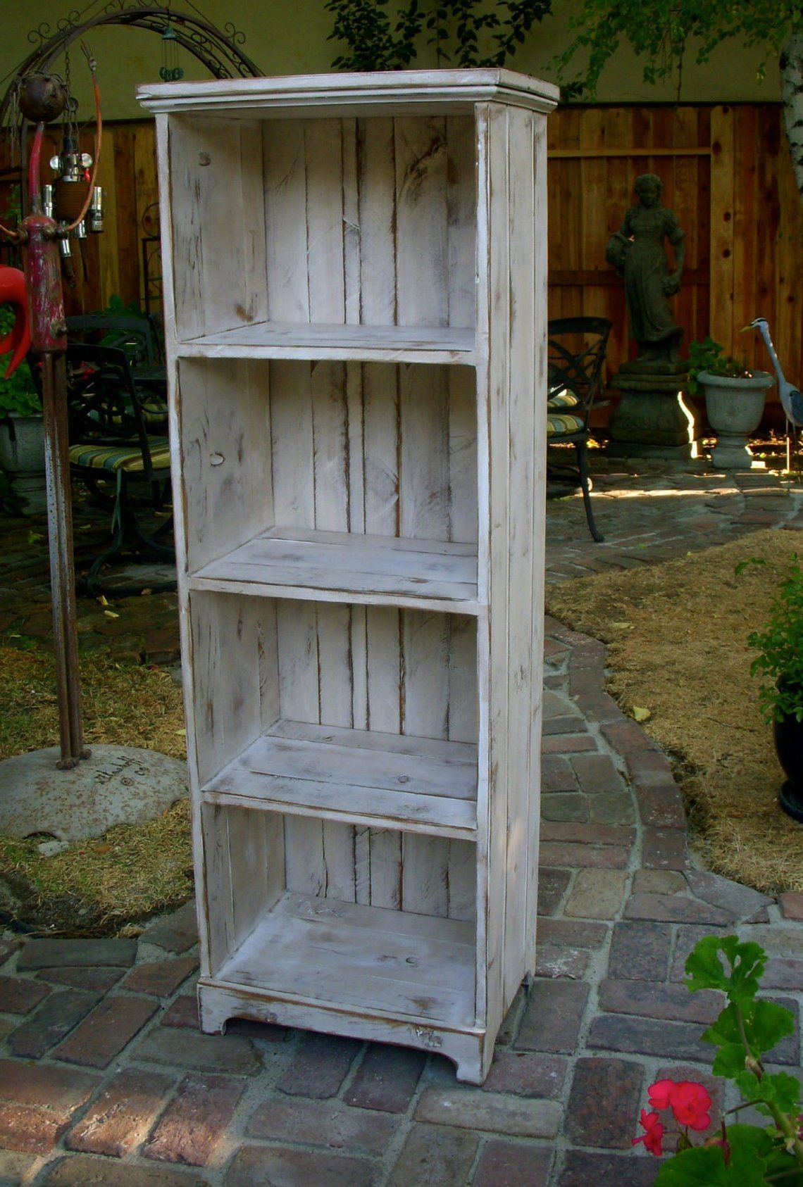Wooden shelf rustic shabby furniture