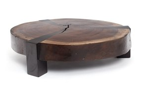 World Market Round Coffee Table