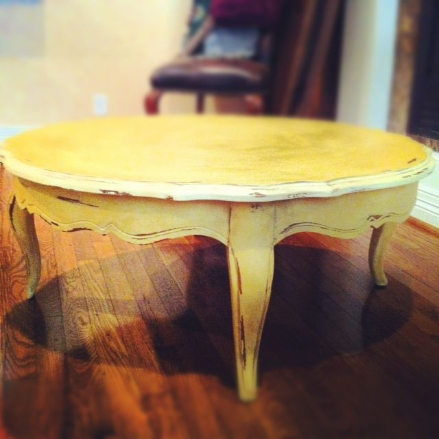 Yellow Coffee Tables 2