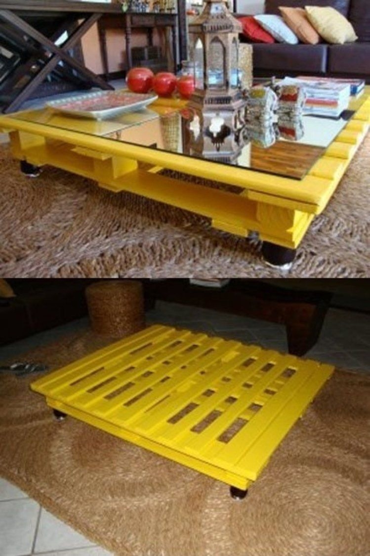 Yellow Coffee Tables 9