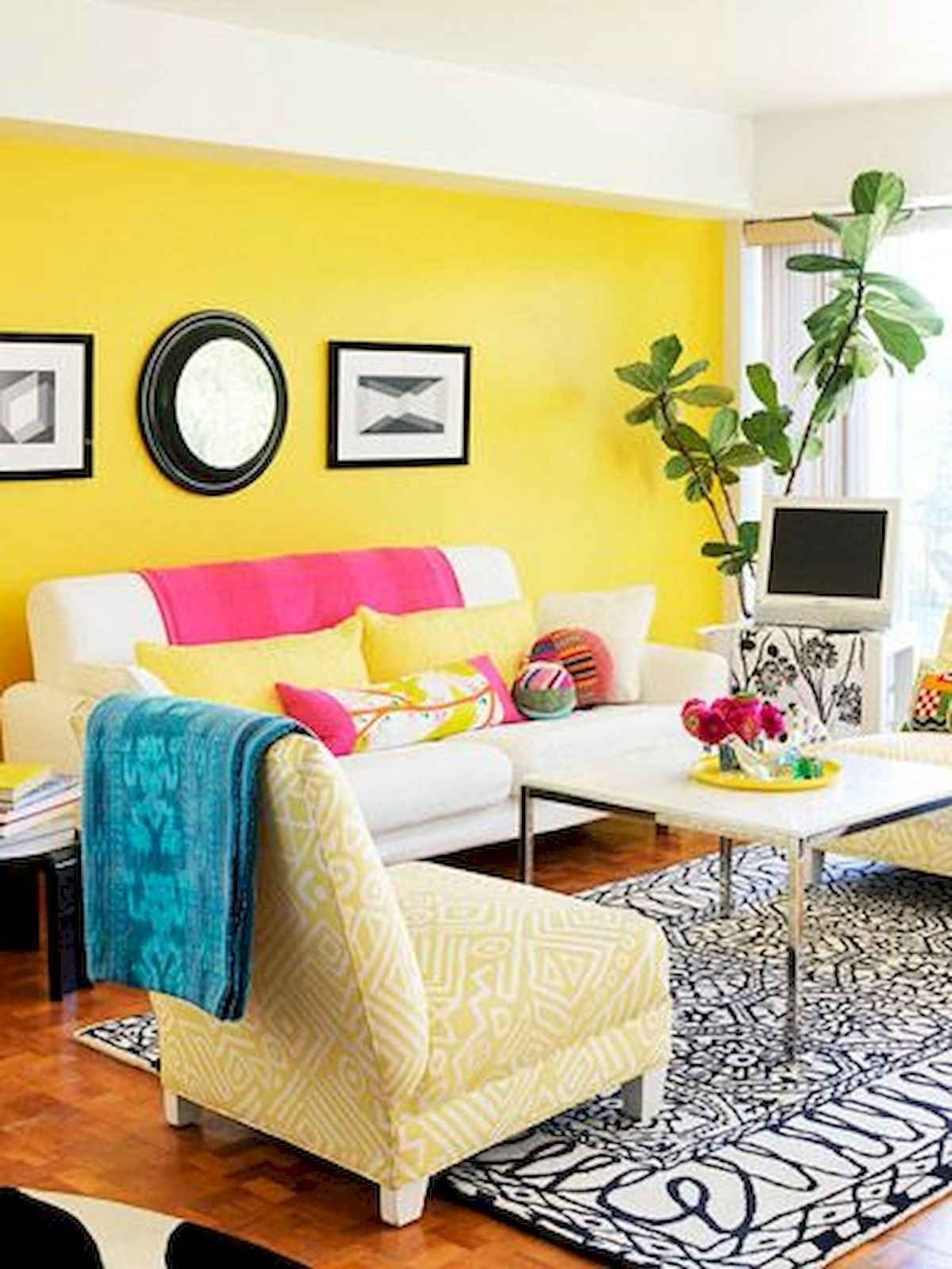 Yellow Living Room Chairs 1