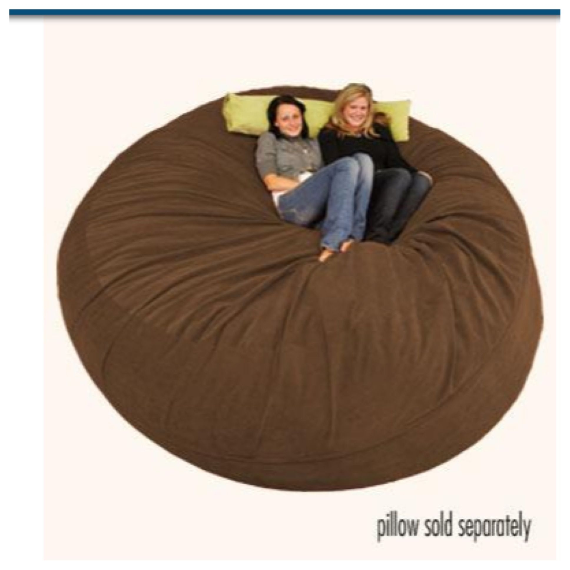 Fluffy Bean Bags. 8 Ft Comfy Sack Would Be Perfect For My College