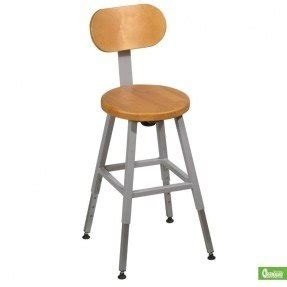 BALT LAB STOOL Optional Back (Gray) (1/carton)