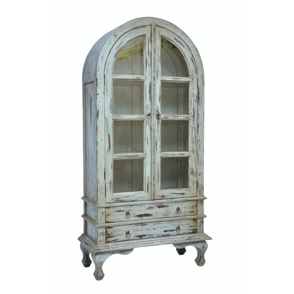 Merveilleux Casual Elements Josephine Cabinet, Farmhouse Island Blue