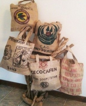 Coffee bean bags