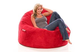 Double bean bag chair 1