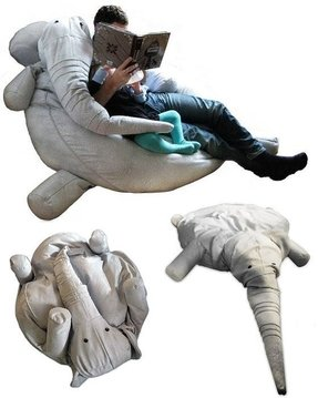 Elephant bean bag chair