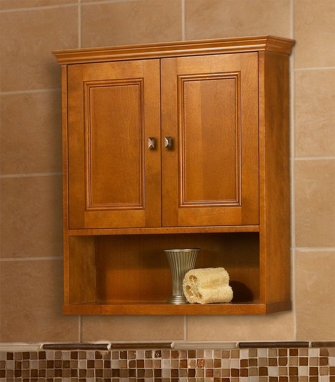 Exhibit 23 3/4 In. W Wall Cabinet In Rich Cinnamon
