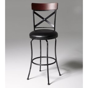 Fashion Bed Group Austin Bar Stool, 30-Inch, Black