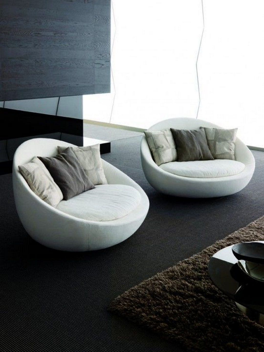 Wonderful Grey Bean Bags 7