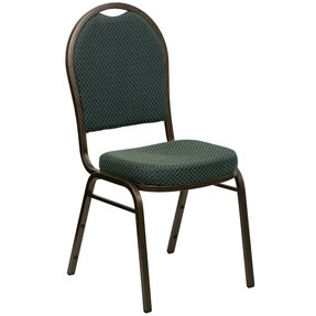 Hon Ignition Fabric Back Stacking Chairs W/Casters