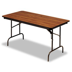 ICE55235 - Iceberg Premium Wood Laminate Folding Table