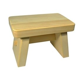 Japan Onsen Goods Hiba Wood Small Size Bath Stool