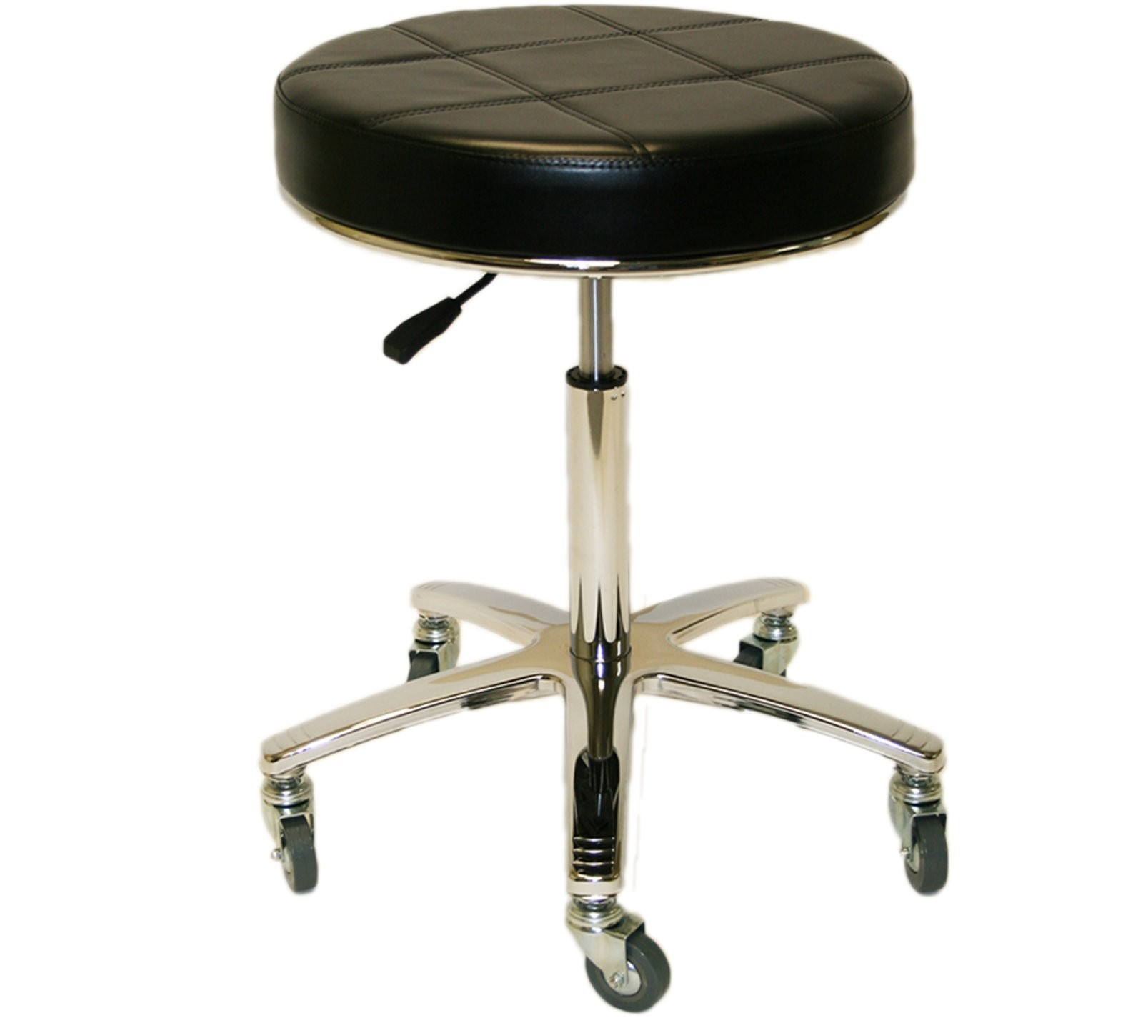 Breakfast Bar Padded Top Seat Folding Stool Portable Space Saving Non Slip Feet