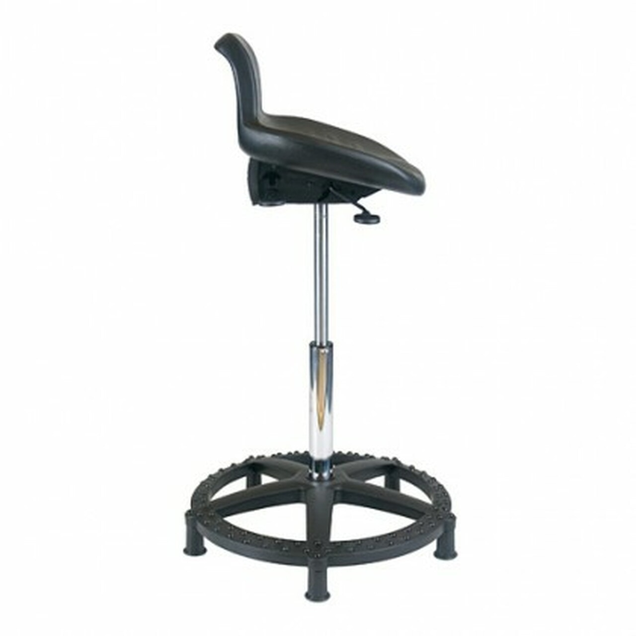 Great Office Master   Polyurethane Sit Stand High Height Stool WS15