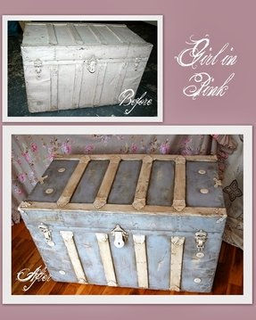 Painted trunk ideas