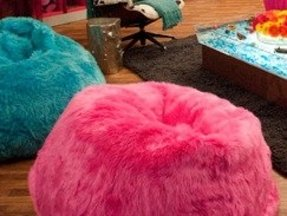 Hot Pink Bean Bag Foter