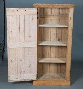 Victorian Pine Antique Cupboard