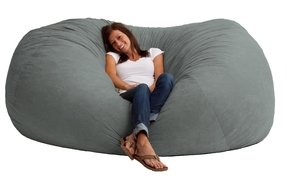 Xxl 7 fuf comfort suede bean bag multiple colors 6