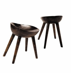 African cup stools insanely comfortable
