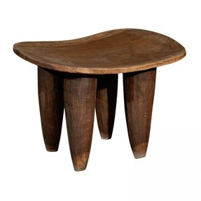 Antique african stool