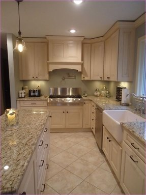 beige cabinets foter bellaire transitional traditional kitchen - Beige Kitchen Cabinets