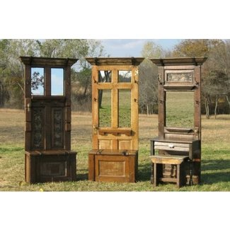Antique storage benches