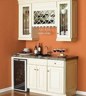 bar cabinet with wine fridge foter. Black Bedroom Furniture Sets. Home Design Ideas