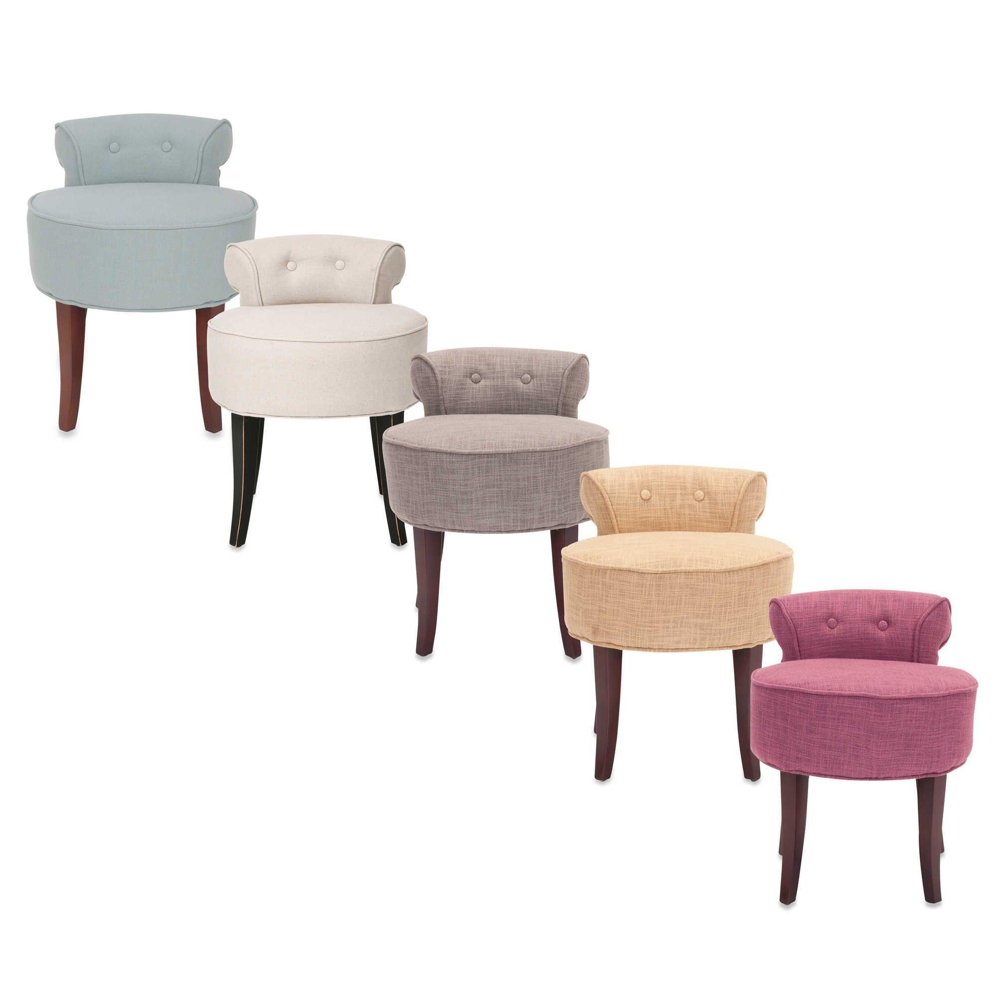 Bathroom Vanity Chairs With Wheels