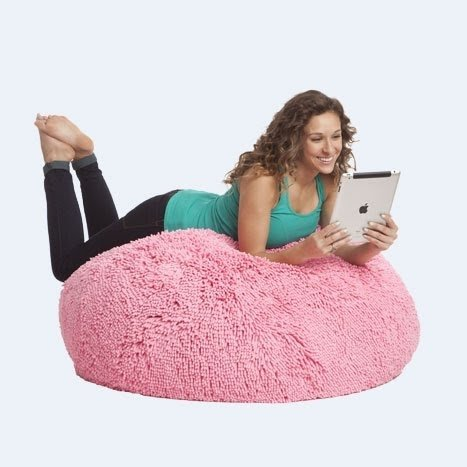 Merveilleux Bean Bag Chair For Kids Teenagers College Students And Parents