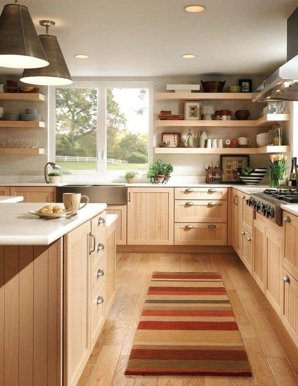 Merveilleux Birch Cabinets 2