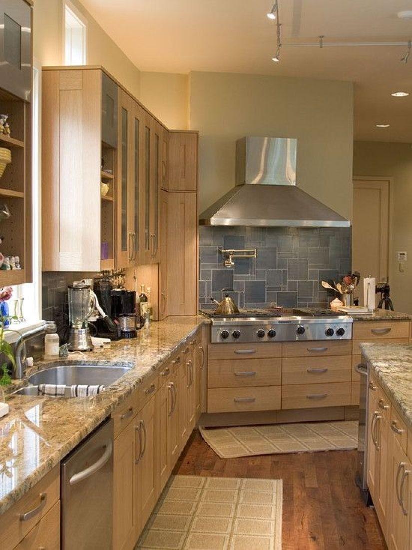 High Quality Birch Kitchen Cabinets 3