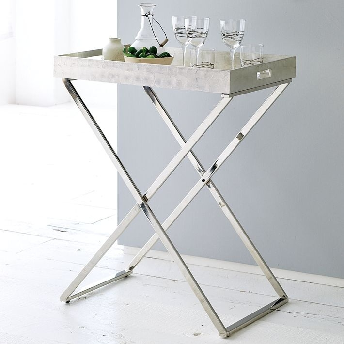 Butler Trays Stands West Elm Side Tables And Accent Tables