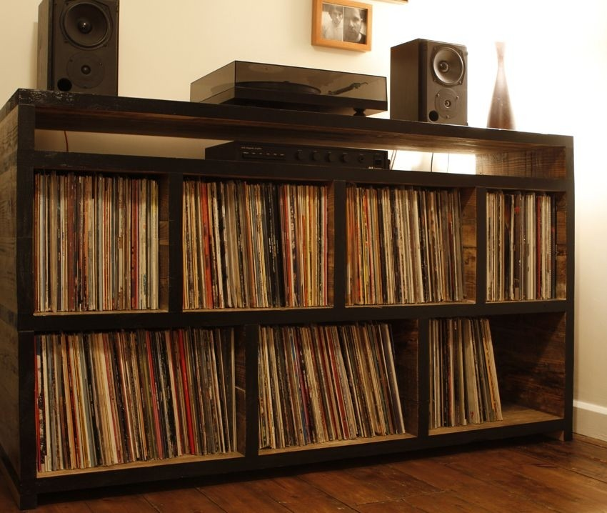 Cabinet Stereo System
