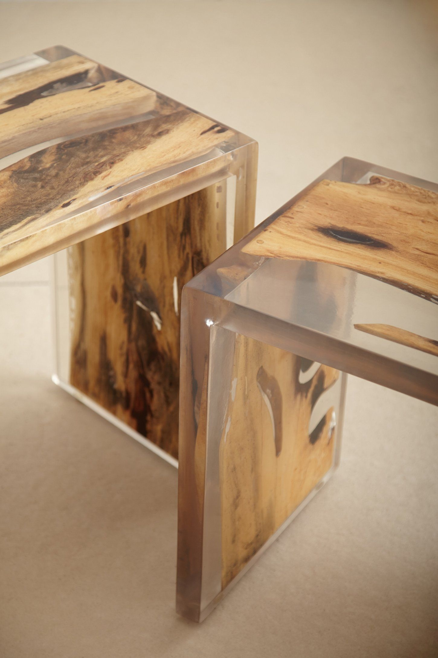 Clear nesting tables