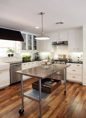 Commercial kitchen island 1