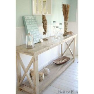 Driftwood Console Table Ideas On Foter