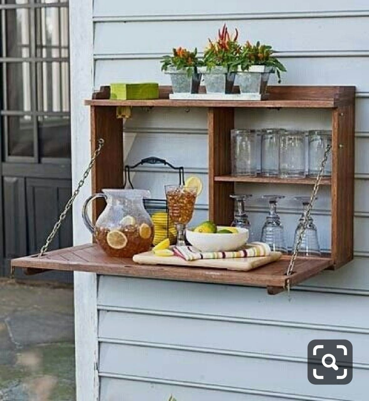 Fold Away Bar Table